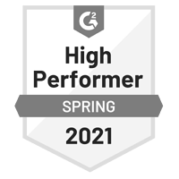 G2-2021-spring-HighPerformer-Badge-grayscale400x400