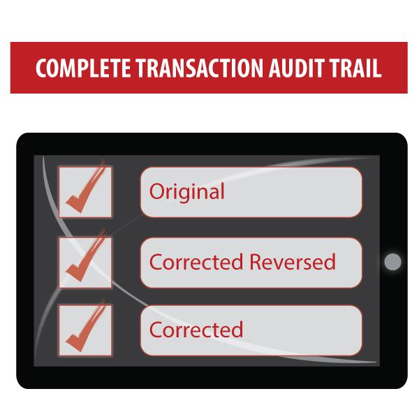 Full Audit Trail