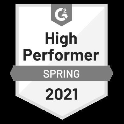 G2-2021-spring-HighPerformer-Badge-grayscale400x400