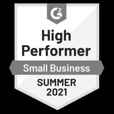 G2-2021-summer-smb-accounting-HighPerformer-Badge-grayscale400x400